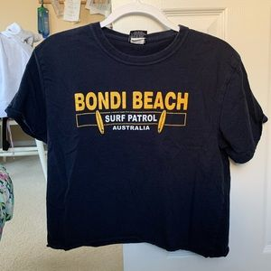 Tops - Bondi Beach cropped tee